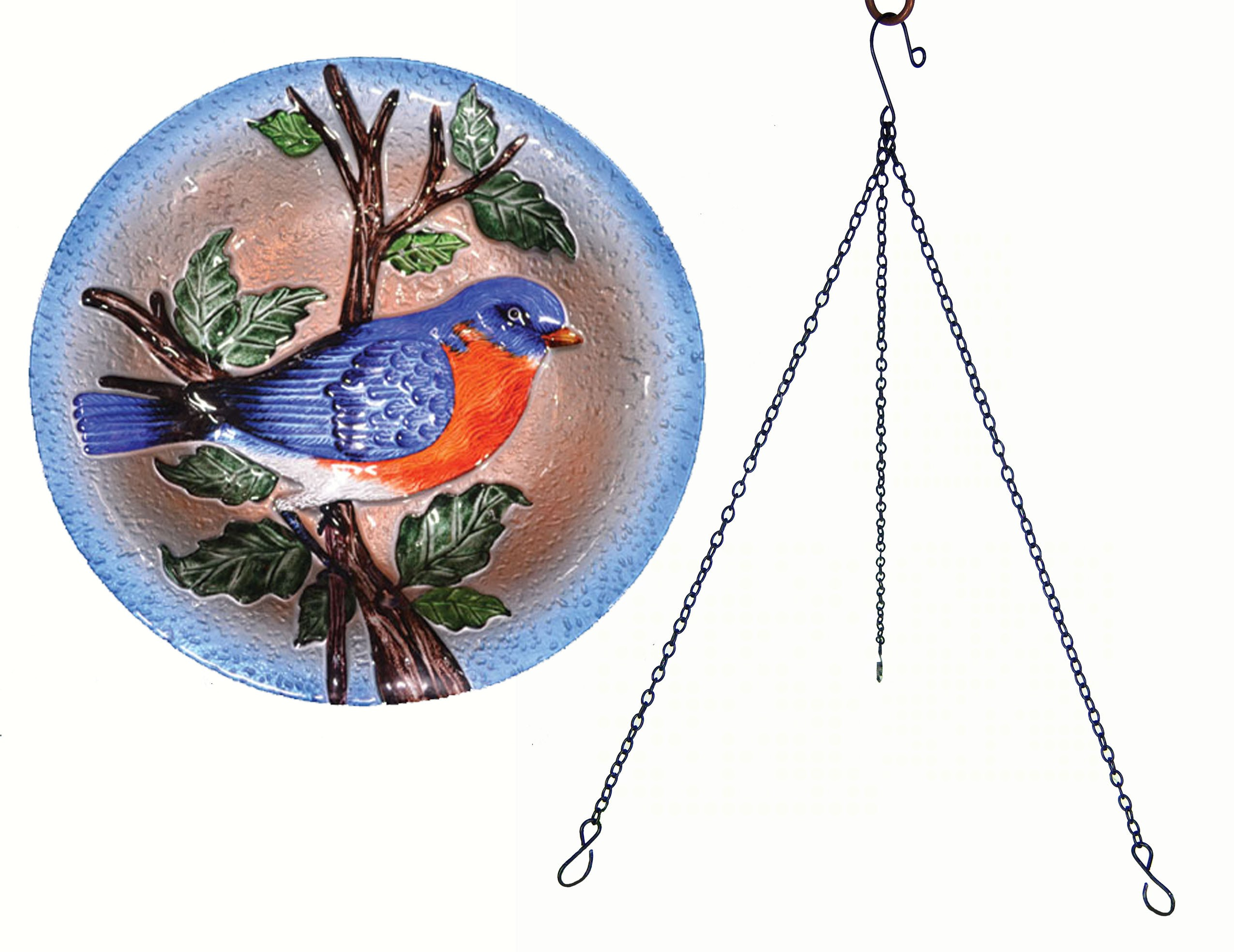 Bluebird Hanging Birdbath Size & Fit Guide
